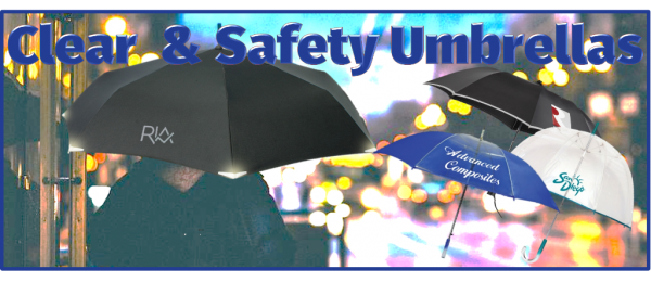 Clear & Safety Umbrellas
