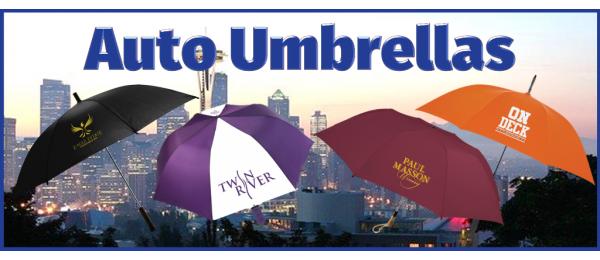 Automatic Opening Umbrellas
