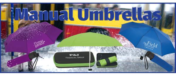 Manual Opening Umbrellas