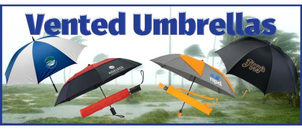 Vented Umbrellas