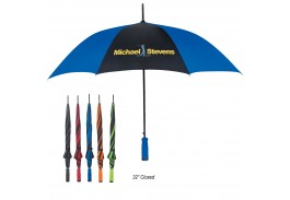 "46"" Auto Open Umbrella with Comfort Grip Handle"