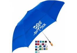 "58"" Auto Open Vented Little Giant Folding Umbrella"