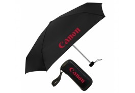 "Mini 36"" Manual Open Elite Traveler Folding Umbrella"