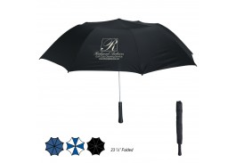 "56"" Auto Open Giant Telescopic Folding Umbrella"