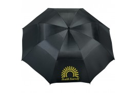 "62"" Manual Open Vented Golf Umbrella"