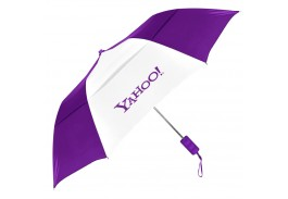 "Mini 42"" Auto Open Windproof Umbrella in 16 Colors"