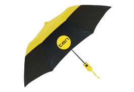 "Mini 42"" Auto Open Two-Tone Vented Umbrella"