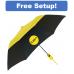 """Mini 42"""" Auto Open Two-Tone Vented Umbrella"""