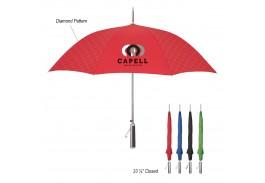 "46"" Auto Open Dripping Diamonds Umbrella"