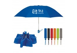 "44"" Auto Open Super Automatic Telescopic Inversion Umbrella"