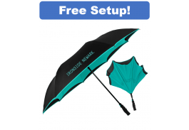 "48"" Auto Open Inversa Inversion Umbrella"
