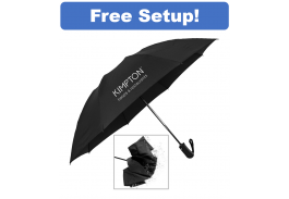 "46"" Auto Open & Close Reversa Inversion Folding Umbrella"