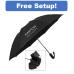 """46"""" Auto Open & Close Reversa Inversion Folding Umbrella"""