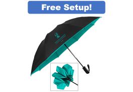 """48"""" Auto Open Color Flip Inversion Folding Umbrella"""