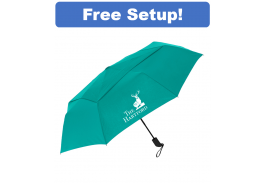 "44"" Auto Open Vented Cosmopolitan Umbrella"