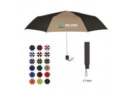 """Mini 42"""" Manual Open Budget Telescopic Umbrella - 18 Colors !"""