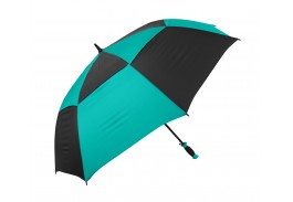 "62"" Arc Auto Open Vented Checkerboard Umbrella"