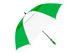 "62"" Arc Manual Open Vented Typhoon Tamer Golf Umbrella"