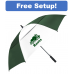 "58"" Arc Auto Open Vented Club Canopy Golf Umbrella"