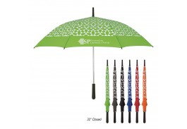 "46"" Auto Open Geometric Umbrella"