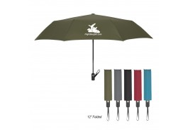 "44"" Mini Auto Open Folding Sterling Automatic Telescopic Umbrella"
