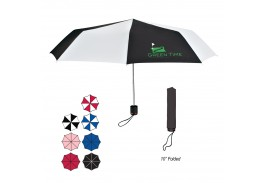 "Mini 43"" Manual Telescopic Folding Umbrella"