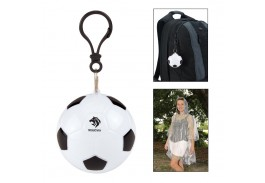 Soccer Pouch with Clear Poncho