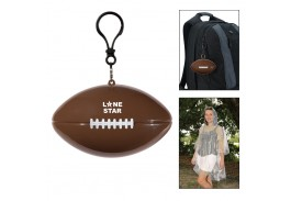 Football Pouch with Clear Poncho