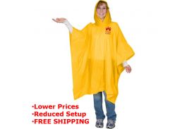 Lightweight Event Rain Poncho
