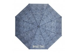 "Mini 42"" Auto Open Tweeds Deluxe Folding Umbrella"