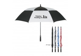 "58"" Auto Open Vented Windproof Umbrella"