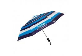"""Mini 42"""" Auto Open Watercolor Print Umbrella"""