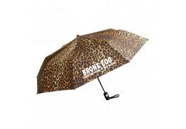 "Mini 42"" Auto Open Wild Prints Folding Umbrella"