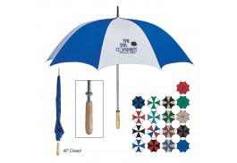 "60"" Manual Open Golf Umbrella - 17 Colors !"