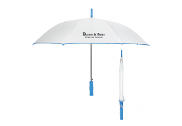 "46"" Auto Open Umbrella with Comfort Handle"