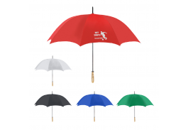 "60"" Manual Golf Umbrella With 100% RPET Canopy"