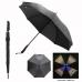 "46"" Auto Open Reflective Iridescence Umbrella"