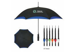 "46"" Auto Open Accent Folding Umbrella"