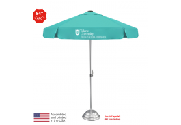 7' Vented Bistro Patio Umbrella