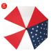 "42"" Auto Open Patriot Folding Umbrella"