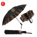 """46"""" Auto Open & Close The Leopard Inverted Folding Umbrella"""
