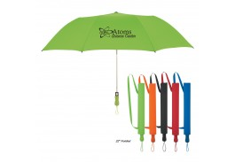 "58"" Auto Open Telescopic Folding Umbrella"