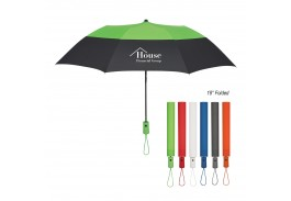 "46"" Auto Open Color Top Folding Umbrella"