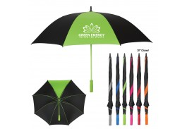 "60"" Manual Open Splash of Color Golf Umbrella"