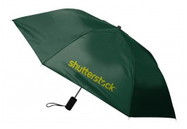 "Mini 40"" Auto Open Economy Folding Umbrella"