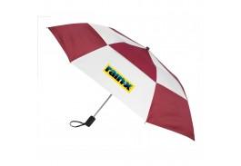 """Mini 44"""" Auto Open Gusto Vented Folding Umbrella"""