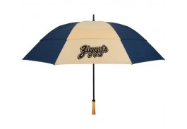"64"" Manual Open Vented Wind Resistant Golf Umbrella"