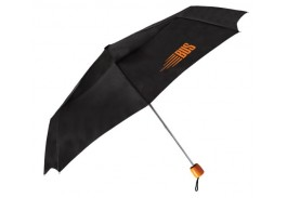 "Mini 43"" Manual Open Folding Wood Handle Umbrella"